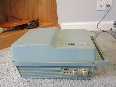 Vintage Arvin Model 58P05 Phonograph Record Player For Parts Or Repair