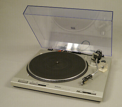 TECHNICS SL-D202 Turntable Direct Drive System extra Stanton d65 stylus TESTED