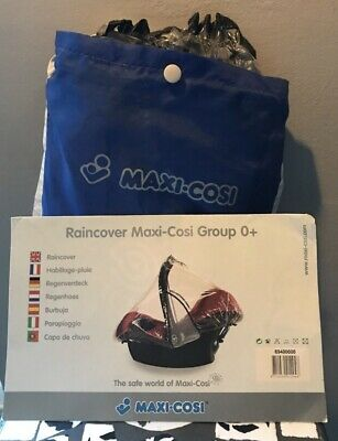 Maxi Cosi Group 0+ Rain Wind Snow Cover For Baby Car Seat Great Unused Condition