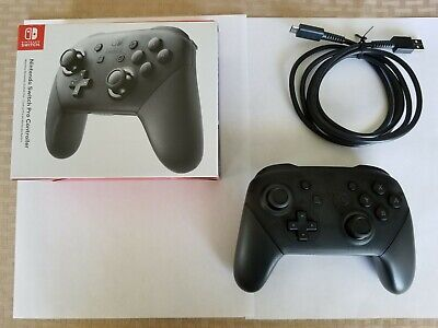 Official Nintendo Switch Pro Controller-brand new, used only once, box included