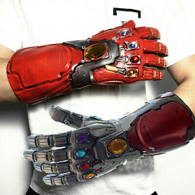 Iron Man Tony Stark Avengers 4 Endgame Infinity Gauntlet Cosplay Gloves Costume