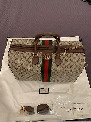 ce2187257950 Gucci Ophidia GG medium carry-on duffle bag$ 1,980 Style 547953 9C2ST 8746