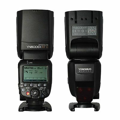 Genuine YONGNUO YN600EX-RT II 2.4G Wireless HSS 1/8000s Speedlite Flash Fr Canon