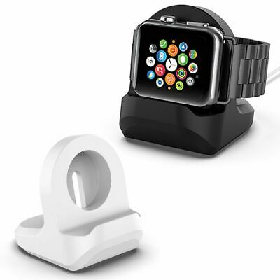 Non-slip Compact Stand W/ Slot Nightstand Holder For Apple Watch iWatch 4 3 2 1