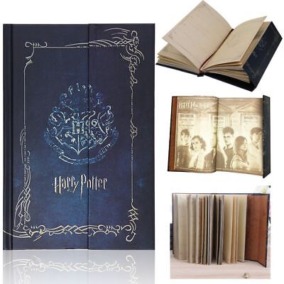 For Harry Potter Vintage Diary Planner Journal Book Agenda Notebook Notepad HOT