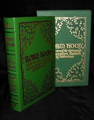 ROBIN HOOD By Henry Gilbert ~ Deluxe Easton Press Leather Bound Edition