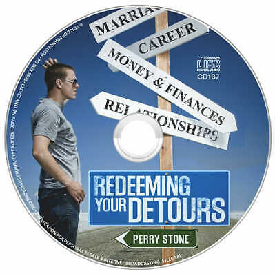 "PERRY STONE-""Redeeming Your Detours""CD"