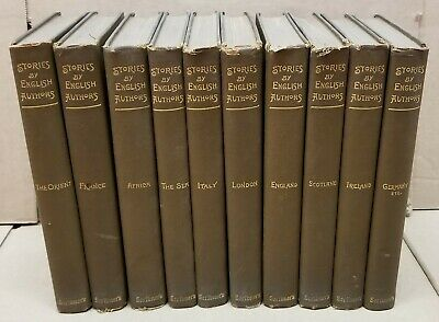 "Vintage 1899 - ""Stories By English Authors"" Books, Set of 10 from Scribner's"