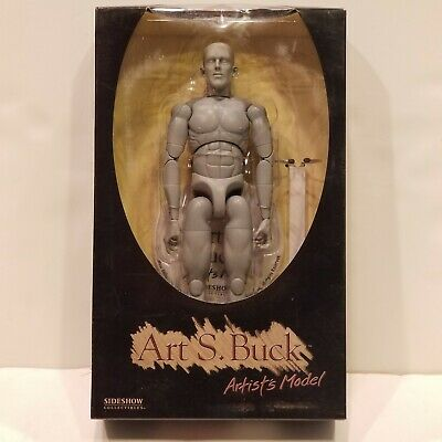 Art S. Buck Anatomical Drawing Mannequin Figure MALE Sideshow Toys NIB