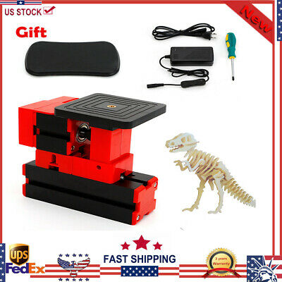24W Mini Cut Off Saw Accurate Saw Wood Cutter Jig-saw Sawing Machine DIY Tools