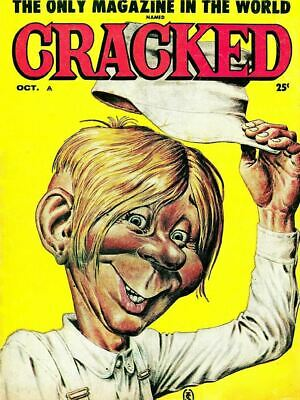 Cracked Magazine 145 Issues Classic Humor and Satire DVD PDF Free Shipping