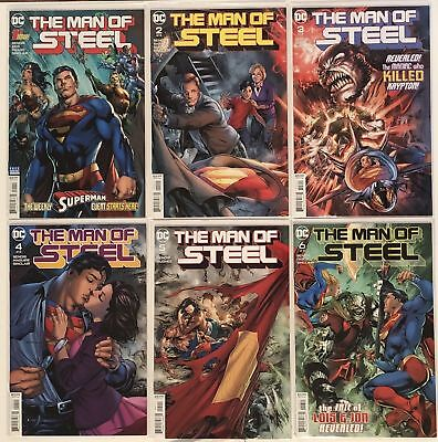 SUPERMAN THE MAN OF STEEL issues #1-6 Complete DC Comics Series Brian Bendis