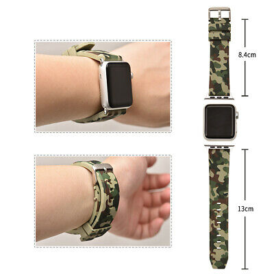 Silicone Bands Strap Wristband Bracelets for Apple Watch iWatch 44/42/40/38mm