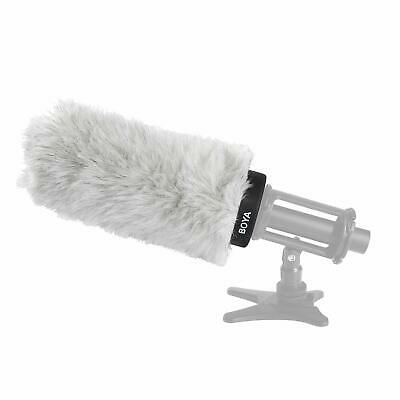 BOYA BY-P180 Furry Outdoor Interview Windshield For Shotgun Capacitor Microphone