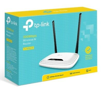 Router Wireless Tp-Link 300Mbps Wifi Access Point 4 Porte Lan Tl-Wr841N