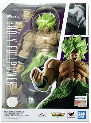 Dragon Ball Super S.H.Figuarts Bandai Broly Full Power In Stock USA Authentic
