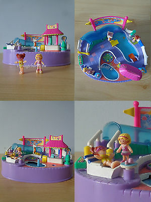 1997 Vintage Polly Pocket Magical Swimabout Polly Complete VHTF Bluebird EXC