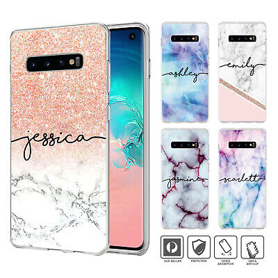 Personalised Case Cover For Samsung Galaxy S10 e 9 8 7 6 5 Edge Plus Note 89