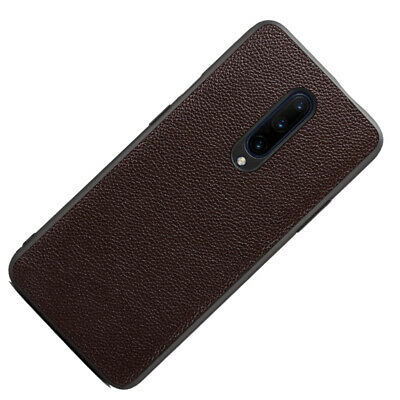 Ultra-Thin Cell Phone PU Leather Back Case Cover For Oneplus 7/ 7 Pro