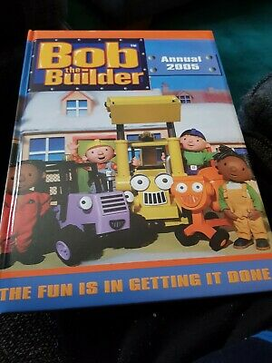 Bob The Builder Annual 2005 X EXCELLENT CONDITION FOR AGE X 1965 X