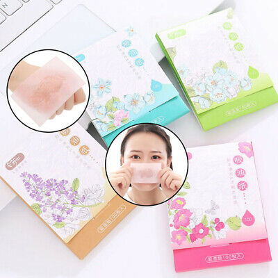 100PCS/Pack Clean Clear Oil absorbing sheet Oil Control Film blotting Paper Ny
