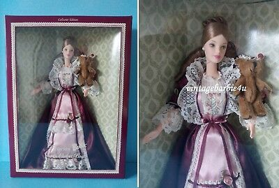Victorian Barbie with Cedric Bear 2000 Doll NEW MIB Mattel ~ LAST ONE IN STOCK