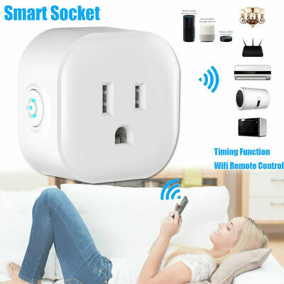 Wireless Wifi Smart Power AU Plug Socket Outlet Switch For ALEXA GOOGLE Remote
