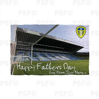 Leeds United FC Official Personalised Father's Day Stadium Beach Towel LBT035
