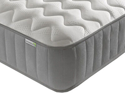 Cool Blue Memory Foam Mattress & Springs Shorty,Single,Double,King FREE DELIVERY
