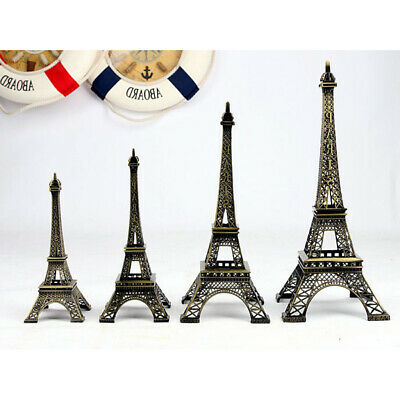 Retro Vintage Bronze Paris Eiffelturm Figur Statue Home Decor Bronze Finish,