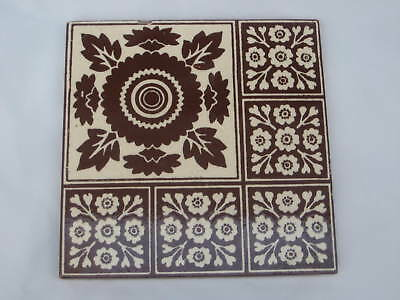 Minton Hollins Victorian Tile Gothic Arts & Crafts Design