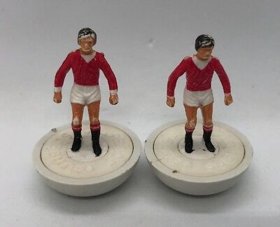 Two Spare Subbuteo LW Players - Manchester United - Reference 100 HP