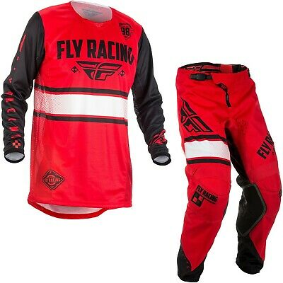 Fly 2018 Kinetic Era Youth Combo (Red/Black) Size 28s/Small
