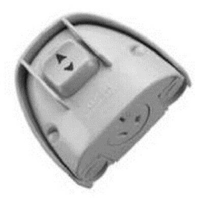 Clipsal WEATHERPROTECTED POWER OUTLET 10A 250V 3-Pin Flat, Surface Mount GREY