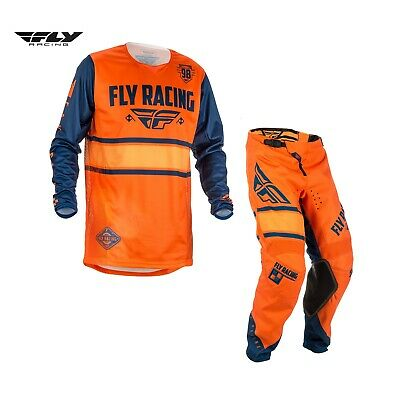 2018 Fly Kinectic Adult Combo Kit (Orange/Navy) Size 34/Large