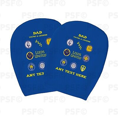 Leeds United FC Official Personalised LUFC Dad Legend Car Head Rest Cover LHR013