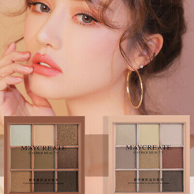 Marble 9 Colour Eyeshadow Palette Makeup Mammonism Romanticism Eye Shadow