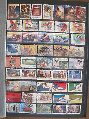 Australia decimal collection of commemorative used stamps