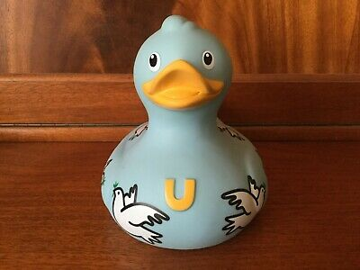 BUD Collectable Luxury GIANT Rubber Duck - LOVE DOVE (2009)