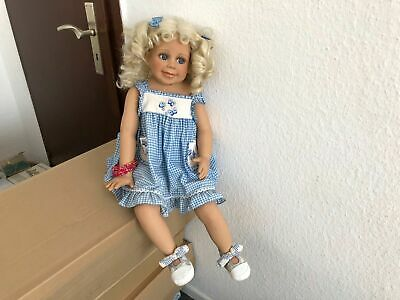 Stoff Puppe 36 Cm ⭐️⭐️ Top Zustand Beautiful And Charming Krahmer-puppe ⭐️⭐️ Holz