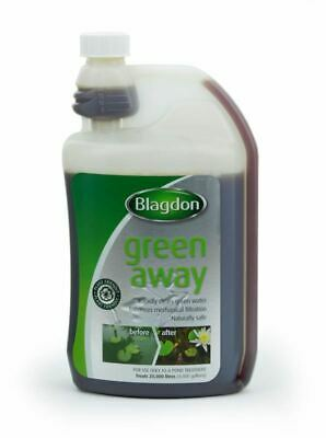 Blagdon Green Away 1 Litre Algae Control Pond Water Treatment 4400 Gal