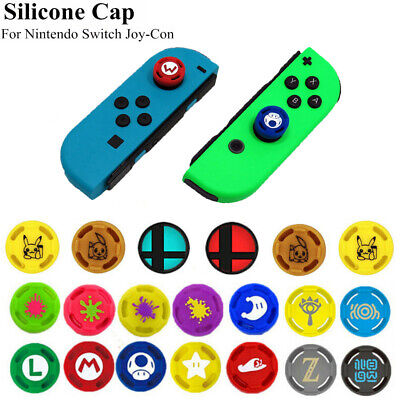 Silicone Analog Thumb Grip Stick Cap Anti-Skid Cover For Nintendo Switch Joy-Con