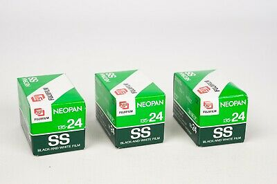 Fujifilm Neopan SS 135-24 black and white- X3 units EXPIRED IN 2006-5