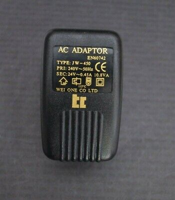 TRANSFORMER LEAD 0803 AC ADAPTOR  CLEAR LEAD 5.5mm X 2.1mm PLUG 0803
