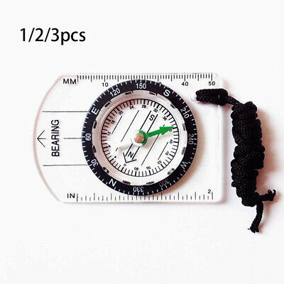 Professional Multifunctional Compass With Rope Map Scale Ruler Rulers
