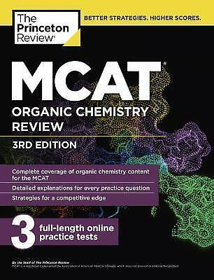 Graduate School Test Preparation: MCAT Organic Chemistry Review, 3rd Edition by
