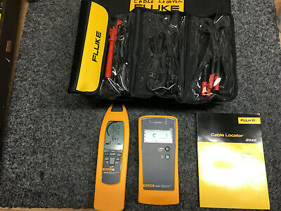 Fluke 2042 Cable Locator With Leads And Case Excellent!