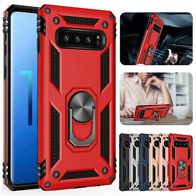 For Samsung Galaxy S10 5G Note 9 S9 Plus Case Magnetic Hybrid Shockproof Cover