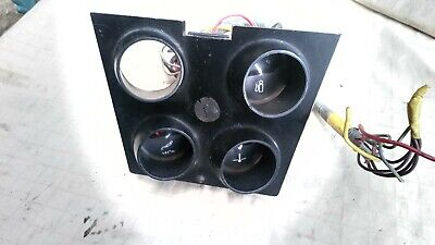 Ford Cortina Mk3 GT & GXL - Centre Console Instrument Cluster (incomplete)