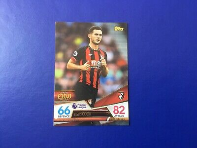 Topps Match Attax Ultimate 18/19 Foil Card ~ Lewis Cook ~ Bournemouth #3